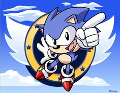 3d Sonic the hedgehog by rongs1234.deviantart.com on @deviantART