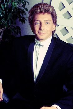 Does Barry Manilow know you raid his wardrobe?