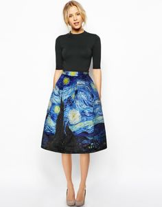 Compare Prices on Starry Night Skirt- Online Shopping/Buy Low ...