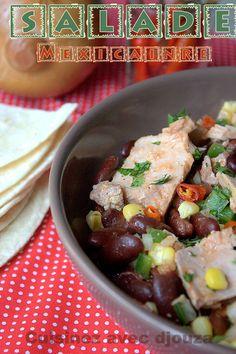 salade mexicaine aux haricots rouges et thon entree salade pinterest cuisine et rouge. Black Bedroom Furniture Sets. Home Design Ideas