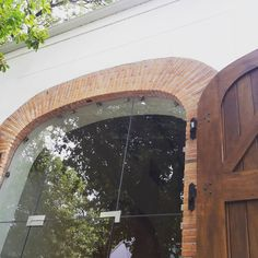 Klompie br archway at La Motte Winery Exposed Brick, Bricks, Clay, Patio, Inspiration, Home, Clays, Biblical Inspiration, Brick