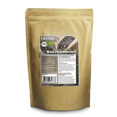 BIO Chia Samen in zertifizierter Spitzenqualität. Reich an Ballaststoffen. Fördert die Verdauung.