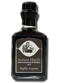 Balsamic Vinegar from Modena I.G.P. Silver Seal in bottles of 250 cc - Acetaia Marchi http://www.amazon.co.uk/dp/B00PQCS0FY/ref=cm_sw_r_pi_dp_bI3Eub0KSX878