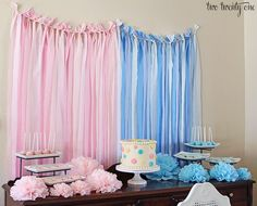 Baby shower decor (unknown gender)
