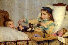 Ventalls: Albert Anke pintor de niños.
