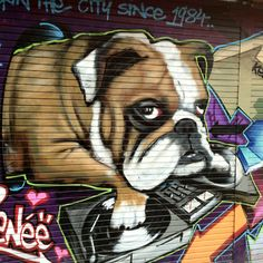 Graffiti in Northern Quarter, Manchester