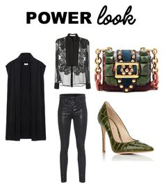 """""""Untitled #106"""" by wallan on Polyvore featuring rag & bone, Givenchy, DKNY, Gianvito Rossi, Burberry and powerlook"""