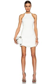 Image 1 of 3.1 phillip lim Cut In Freeform Hem Cotton Dress in White