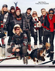 Tommy Hilfiger Holiday 2012 Campaign