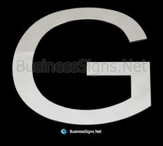 Order laser cutting solid stainless steel signs or precision fabrication for deeper hollow stainless steel letters in mirror polished finishes with high quality services from us now. Business Signs, Side View, Laser Cutting, Surface, Polish, Stainless Steel, Letters, Led, Mirror