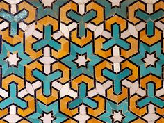 Isfahan/ Charbagh Theological Shool/ Tile Work by HORIZON, via Flickr