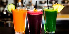 Sucos saudáveis ajudam a dormir bem, a ter energia e outros benefícios
