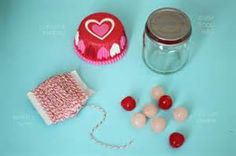 valentine's decorations with baby food jars - - Yahoo Image Search Results