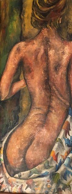 Her n. 2 by Jg Wilson Oil on wood www.jgwilsonart.com