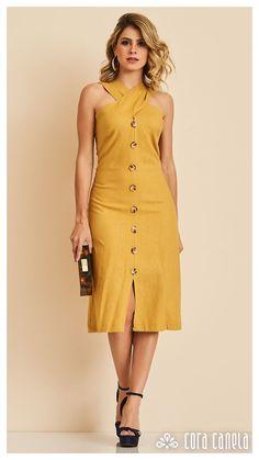 LOOK BOOK 10 – Cora Canela Elegant Dresses, Cute Dresses, Casual Dresses, Summer Dresses, Dress Outfits, Fashion Dresses, Schneider, Girl Fashion, Fashion Design