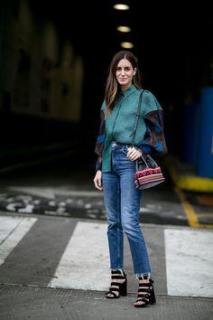 Неделя моды в Нью-Йорке, осень-зима 2016: street style. Часть 4, Buro 24/7