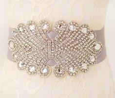 bridal dress sash rhinestone wedding belt