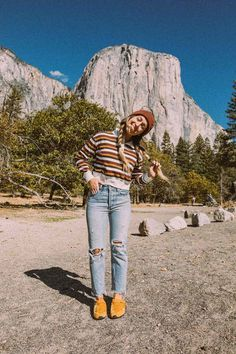 Dec 2019 - Ember - Exploring Yosemite National Park in the Teva Fall Women's Collection Fashion Models, Outdoorsy Style, Girl Outfits, Cute Outfits, Cute Camping Outfits, Beautiful Outfits, Granola Girl, Camping Aesthetic, Looks Cool
