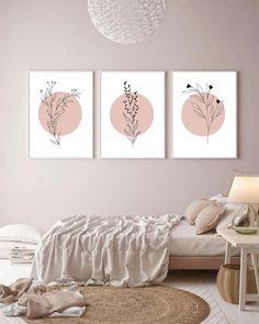 Bedroom Wall, Bedroom Decor, Artwork For Bedroom, Bed Wall, Nursery Decor, Minimal Art, Diy Canvas Art, Diy Wall Art, Wall Of Art