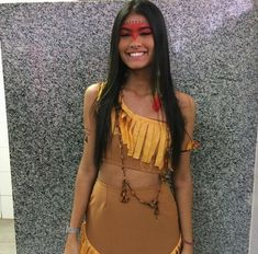 brazil, girl, and indian image Themed Halloween Costumes, Couple Halloween Costumes For Adults, Halloween Cosplay, Halloween Outfits, Cosplay Costumes, Woman Costumes, Pocahontas Costume, Mermaid Costumes, Bunny Costume