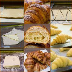 I Pasticci dello Ziopiero: Croissant sfogliatissimi e con il lievito madre!!!!