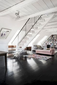 Amazing Idea About Loft Living Rooms You Need To Sample 63