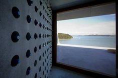 moderner weinregal aus beton //modern wine shelf concrete