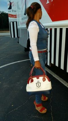 Match your outfit with a touch of red. The Boutique US Fashion Truck
