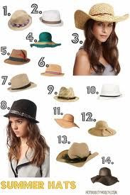 summer hats for women - Google Search