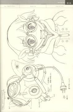 Doujinshi Linkage sketches by Range Murata