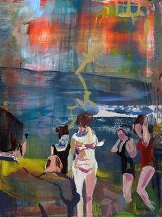 Bathers, 2011 by Elizabeth Huey
