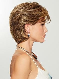 Gratitude by Eva Gabor Wigs - Heat Friendly Synthetic Wig - Hair Short Hair With Layers, Short Hair Cuts For Women, Layered Haircuts, Short Bob Hairstyles, Curly Haircuts, Older Women Hairstyles, Medium Lenth Hair, Medium Hair Styles, Curly Hair Styles