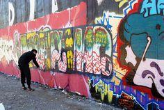 Clint 176  Berlin  graffiti  Milotow