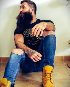 "198 Likes, 4 Comments - Julien Sutra (@julien_sutra) on Instagram: ""I have a dream ...... #today #beard #bearded #beardedmodel #instagood #tattooedmen #beardedbadass…"""