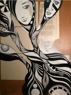 Lucy McLauchlan - Past Forgotten  Lazarides sell her work. Check out their website.