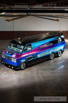 custom vans | Custom Van: Deathstar