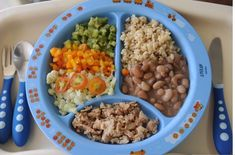 Consistência dos onze meses em diante Healthy Meals For Kids, Kids Meals, Easy Meals, Healthy Recipes, Baby Food Recipes, Cooking Recipes, Space Food, Toddler Meals, Infant Activities