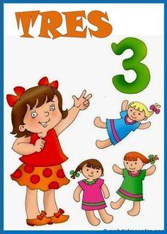 Números del 1 al 10 - Recursos educativos y material didáctico para niños/as de Infantil y Primaria. Descarga Números del 1 al 10