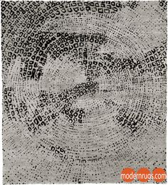 Christopher Fareed Fragmented Mohair Hand Knotted Tibetan Rug