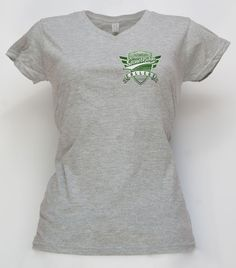 Ladies, flash your Stonebridge style with our tailored v-neck t-shirt. Available in Navy and Sport Grey.