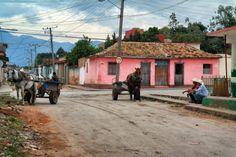 Cuban cowboys in Trinidad