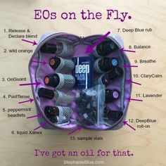 Gotta have my essential oils with me EVERYWHERE I go. This handy case keeps em all. Never be without.