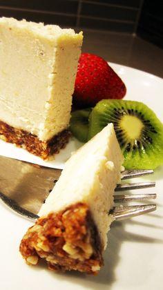 Almost Raw Vegan Cheesecake