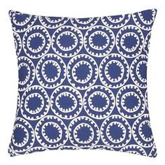 Veranda Ring A Bell Throw Pillow - Jaipur