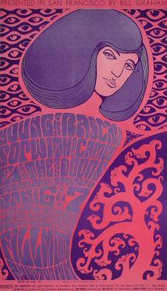 The Doors Poster Fillmore Auditorium (San Francisco, CA) Jan 6, 1967