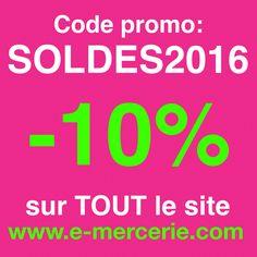 #soldes #tissus #mercerie #couture dans quelques heures...