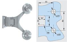 Tecnología y Diseño ( Herrajes y Templados ): SISTEMA SPIDER House, Stainless Steel, Walls, Crystals, Home, Homes, Houses