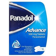 Panadol Advance Paracetamol 500mg Tablets 16s Superdrug (€1,93) ❤ liked on Polyvore featuring accessories and tech accessories