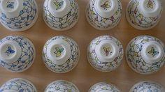 This festive seasons range of leaf tea bowls will be available in three colours!   #workinprogress #inthestudio #clay #ceramics #ceramicist #ceramicart #ceramicartist #pottery #art #artist #artoftheday #handmade #handmadwithlove #handmadeinaustralia #creative #create #porcelain #stoneware #homewares #teacups #teabowls #contemporaryceramics #wheelthrown #wheelthrownpottery #wheelthrownceramics #australianceramics #australianmade #leaf #photooftheday #inspiredbynature