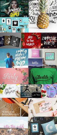 The Decorative Fonts Bundle: 121 Unique Fonts with Commercial License Design Bundles, Your Design, Fonts, Commercial, Joy, Make It Yourself, Graphic Design, Unique, Holiday